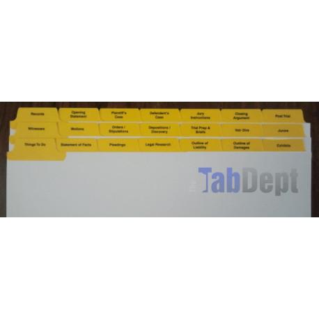 Trial Tabs