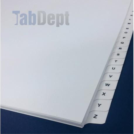 Single Alphabet Tabs
