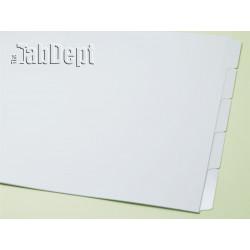 11x17 Set of 5 Index Tab Dividers (Mylar)