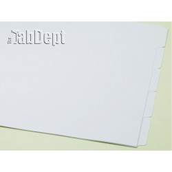 11x17 Set of 5 Index Tab Dividers