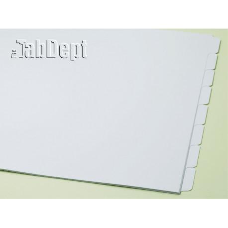 11x17 Set of 8 Index Tab Dividers
