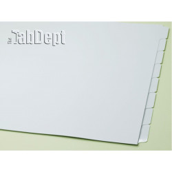 11x17 Set of 8 Index Tab Dividers (with Mylar)