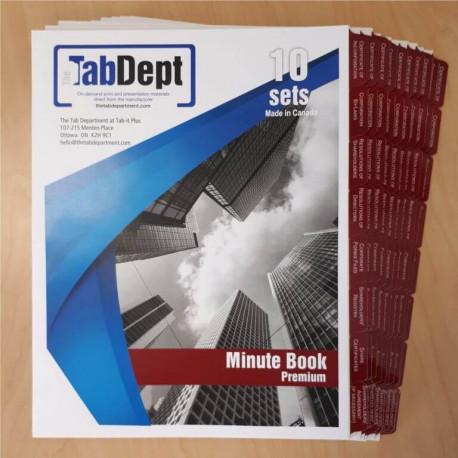 Minute Book (Premium)