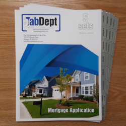Mortgage Application Tabs
